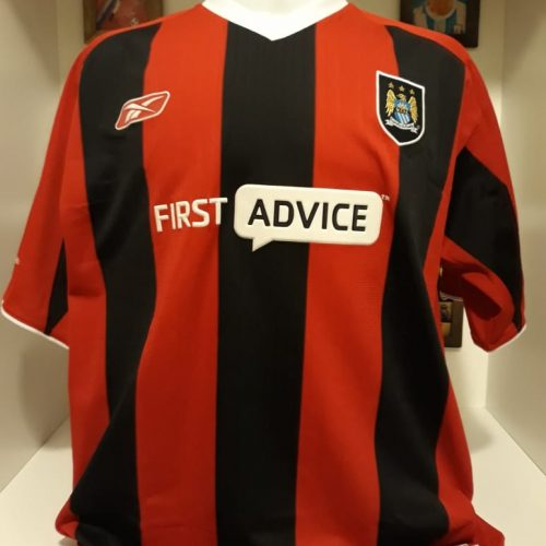 Camisa Manchester City Reebok 2003