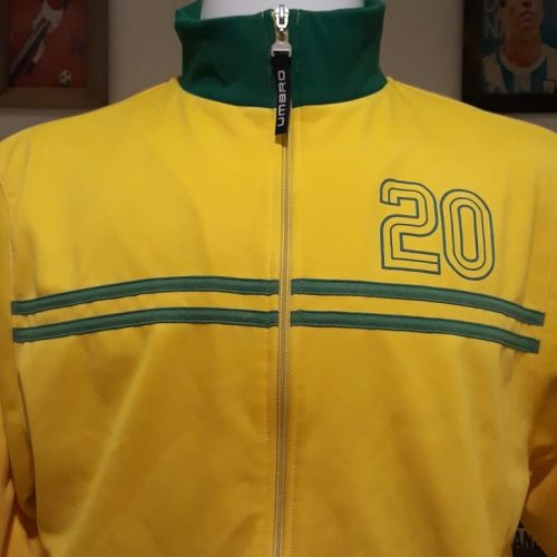 Jaqueta Brasil Umbro retro