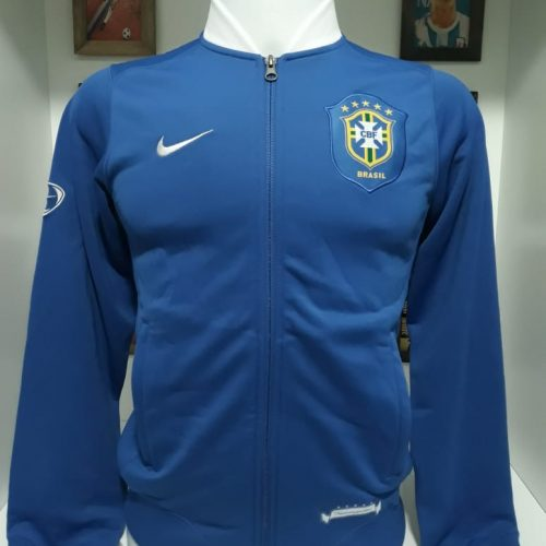 Jaqueta Brasil Nike azul