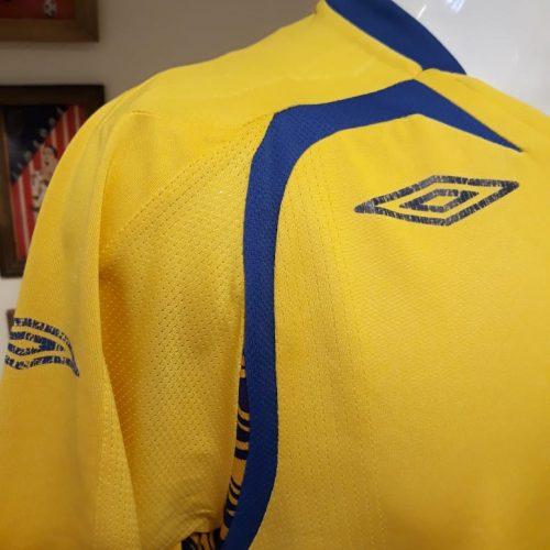 Camisa Suécia Umbro 2007