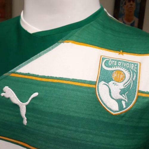 Camisa Costa do Marfim Puma 2010
