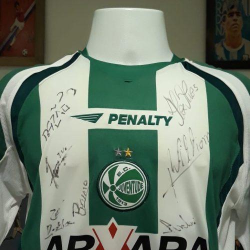 Camisa Juventude Penalty autografada