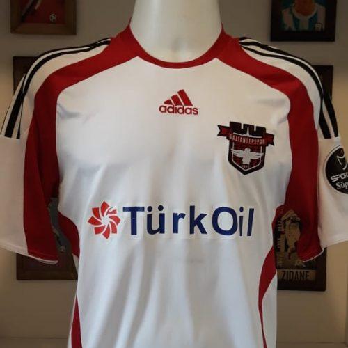 Camisa Gaziantepspor Adidas 2010 Ivan de Souza