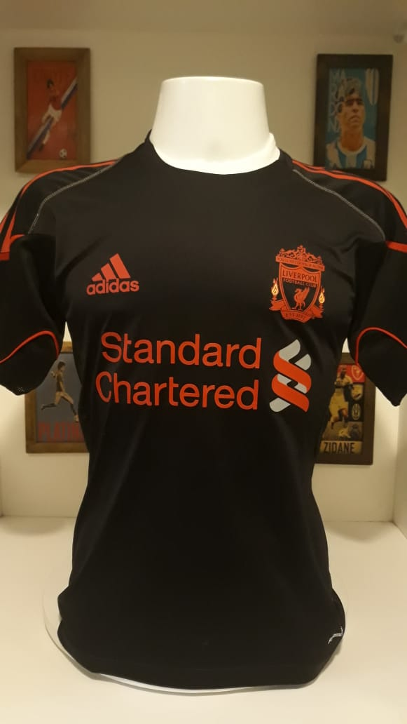 Camisa Liverpool Adidas Treino Memorias Do Esporte