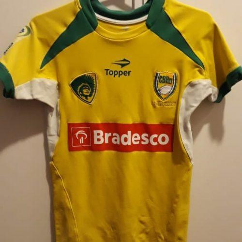 Camisa Brasil Tupis feminina Topper rugby