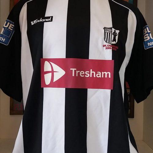 Camisa Corby Town Vandanel 2009