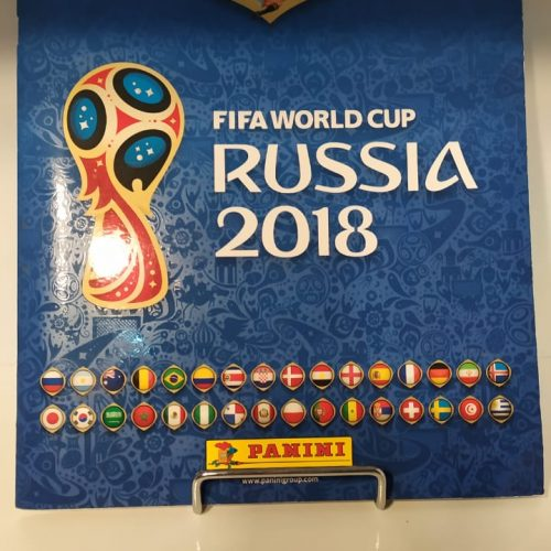 Álbum de figurinhas Copa do Mundo 2018