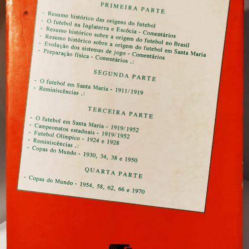 Livro Hermito Sobrinho Futebol e reminiscências