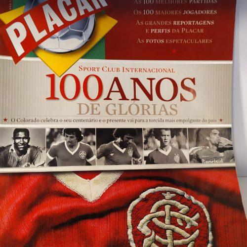 Revista Placar Internacional centenário