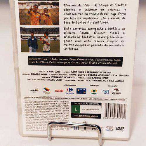 DVD Meninos da Vila, a magia do Santos