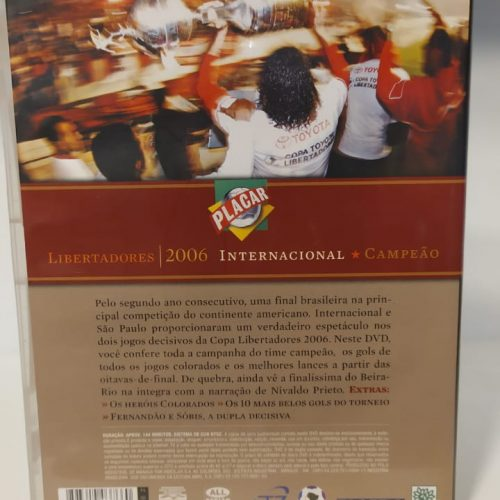 DVD Internacional campeão da Libertadores 2006