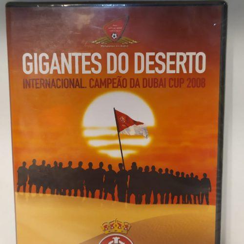 DVD Internacional Gigantes do deserto Dubai Cup 2008