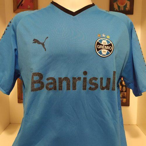 Camisa Grêmio Puma 2008 celeste