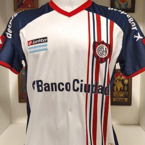 Camisa San Lorenzo Lotto 2014 Cavallaro Libertadores da América