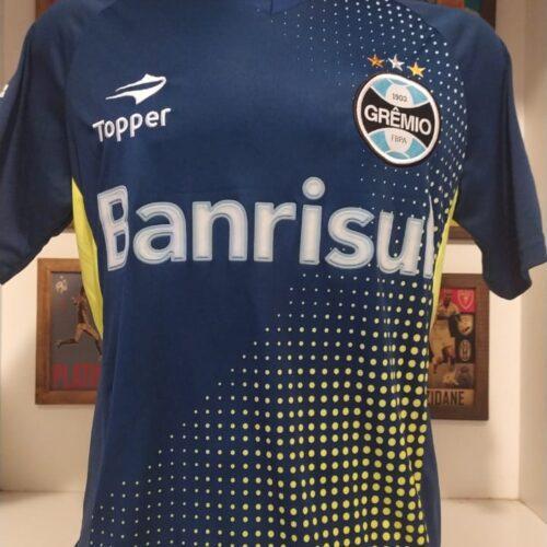 Camisa Grêmio Topper goleiro Busatto azul-marinho