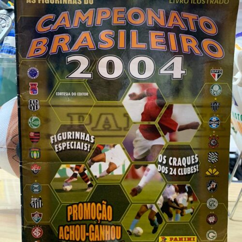Álbum de figurinhas Campeonato Brasileiro 2004