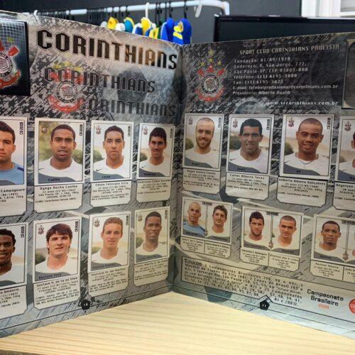 Álbum de figurinhas Campeonato Brasileiro 2005