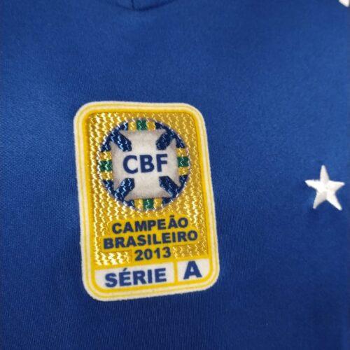 Camisa Cruzeiro Olympikus 2014 Manoel autografada