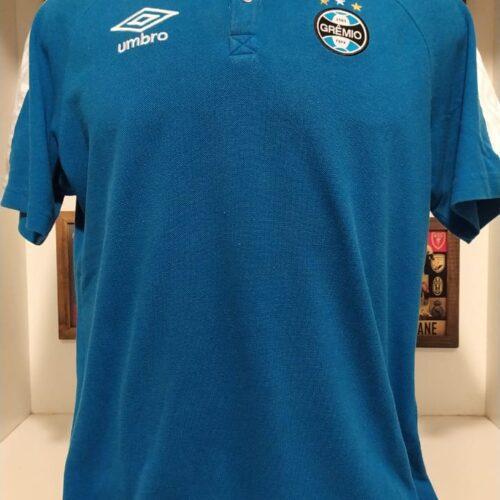 Camisa Grêmio Umbro polo azul