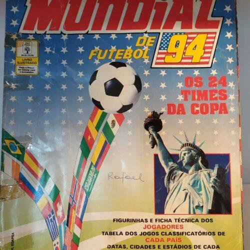 Álbum de figurinhas Copa do Mundo 1994