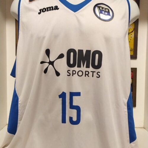 Camisa EC Pinheiros Joma Renato basquete autografada