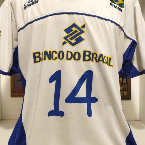 Camisa Brasil Olympikus Rodrigão volei
