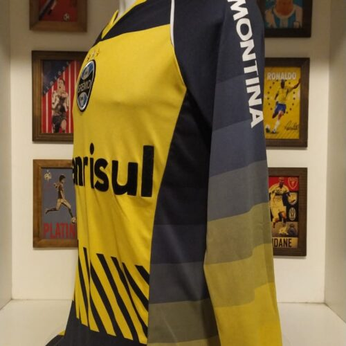 Camisa Grêmio Topper goleiro amarela mangas longas