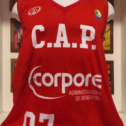 Camisa Paulistano Aktion Jonatan autografada