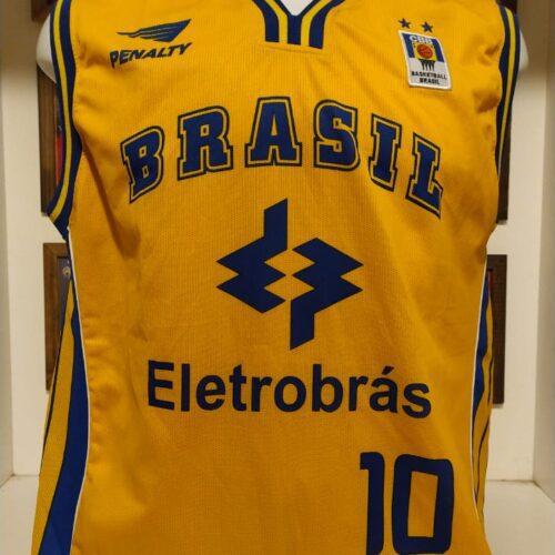 Camisa Brasil Penalty basquete
