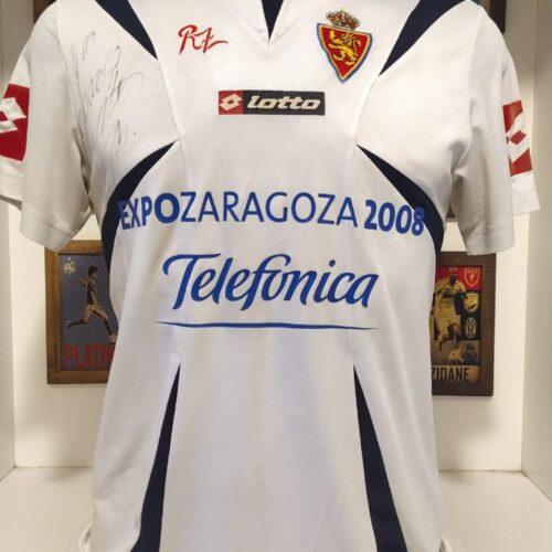 Camisa Zaragoza Lotto 2006 Dalessandro autografada