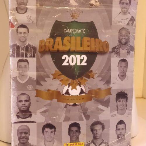 Álbum de figurinhas Campeonato Brasileiro 2012