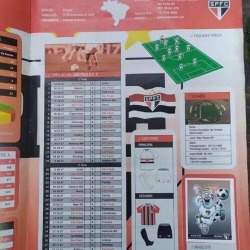 Álbum de figurinhas Campeonato Brasileiro 2007