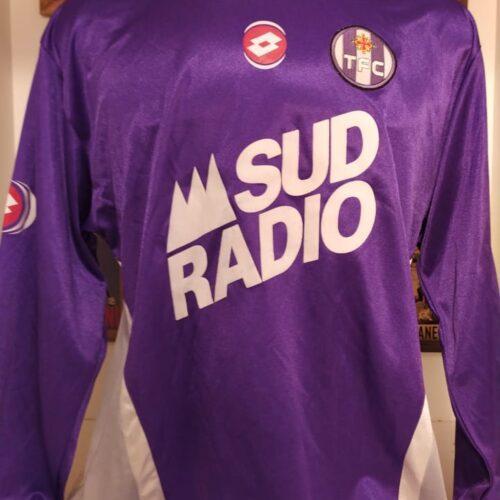 Camisa Toulouse Lotto 2003 Faure mangas longas