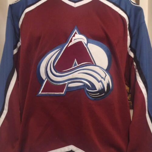 Camisa Colorado Avalanche NHL hockey mangas longas