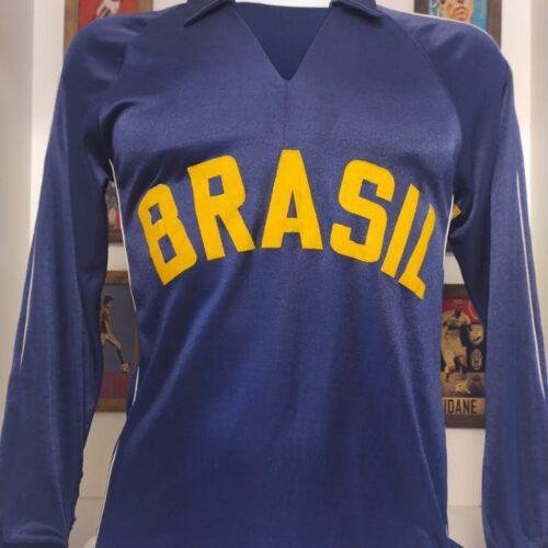 Camisa Brasil volei Ughini mangas longas