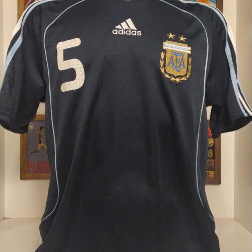 Camisa Argentina Adidas 2007 Mascherano