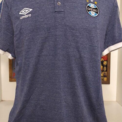 Camisa Grêmio Umbro 2019 viagem polo