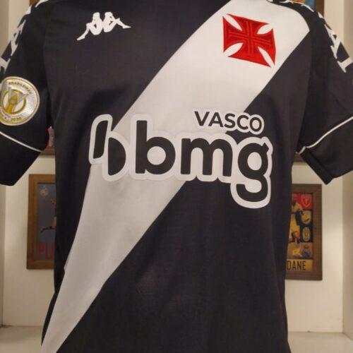 Camisa Vasco da Gama Kappa 2020 Bruno Gomes Brasileirão