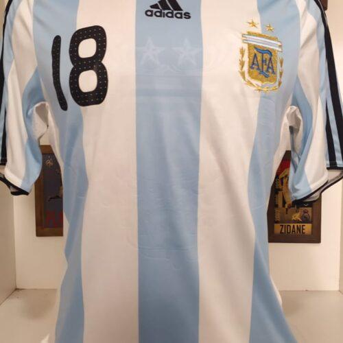 Camisa Argentina Adidas 2007 Messi