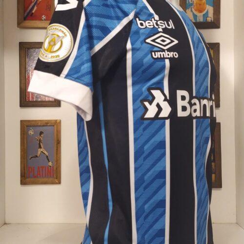 Camisa Grêmio Umbro 2020 Brasileirão Isaque