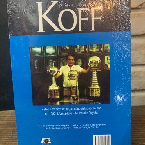 Livro Fábio Koff Grêmio – Memórias e confidências