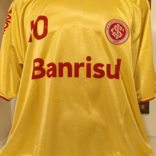 Camisa Internacional Reebok 2009 centenário dourada