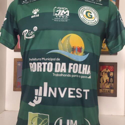 Camisa Guarany Porto da Folha – SE Onza