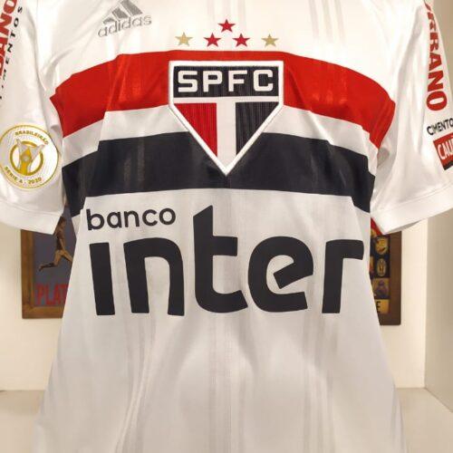 Camisa São Paulo Adidas 2020 G Sara Brasileirão