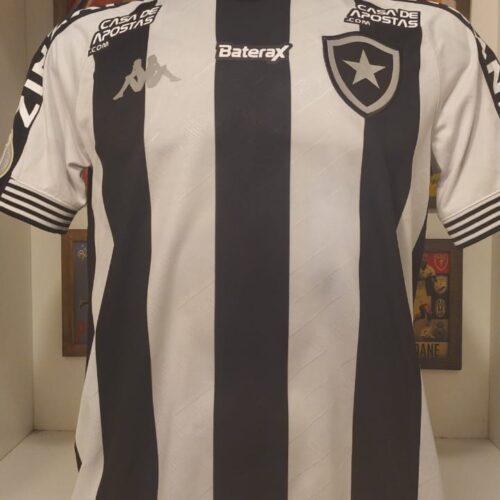 Camisa Botafogo Kappa 2020 Warley Brasileirão