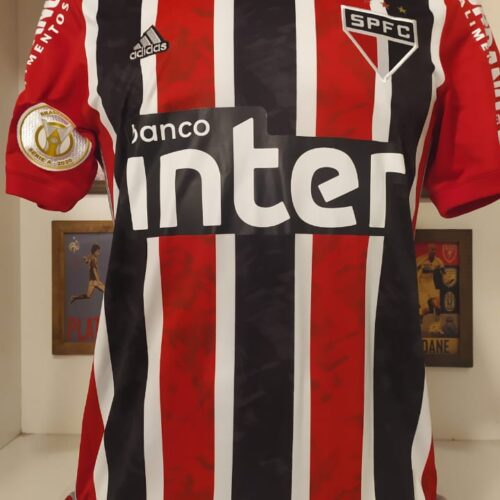 Camisa São Paulo Adidas 2020 Helinho Brasileirão