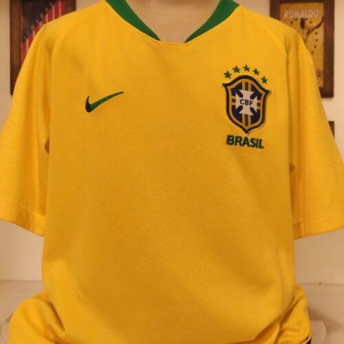 Camisa Brasil Nike 2018 Neymar infantil