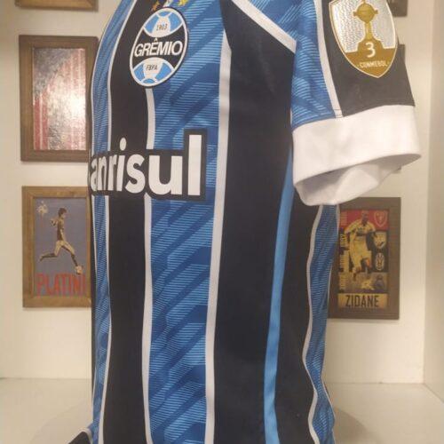 Camisa Grêmio Umbro 2020 Orejuela Libertadores da América