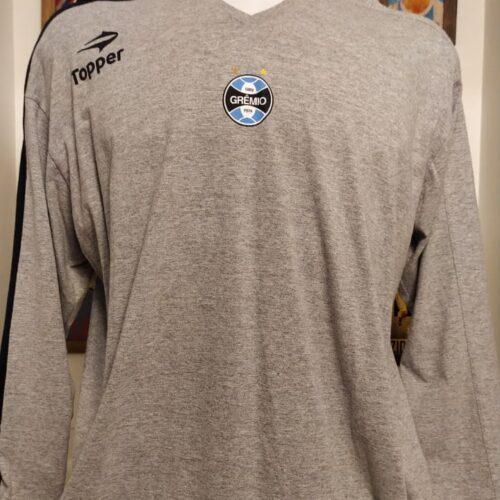 Camisa Grêmio Topper passeio mangas longas