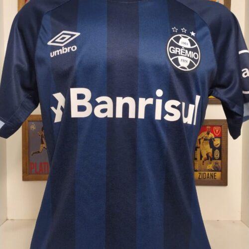 Camisa Grêmio Umbro 2017 Marcelo Grohe autografada